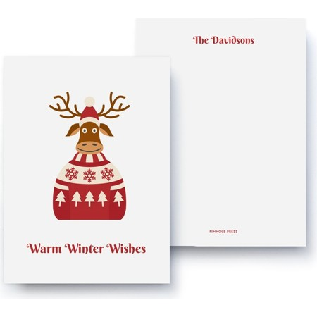 Winter Wishes Holiday Card