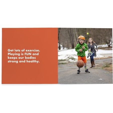 Healthy Habits Photo Book for Kids