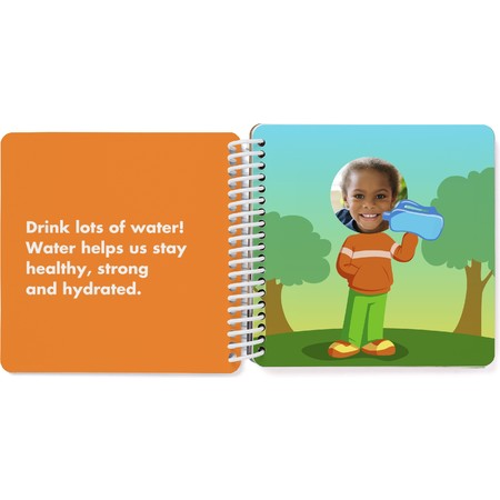 Custom Board Book of Healthy Habits - Spread 5