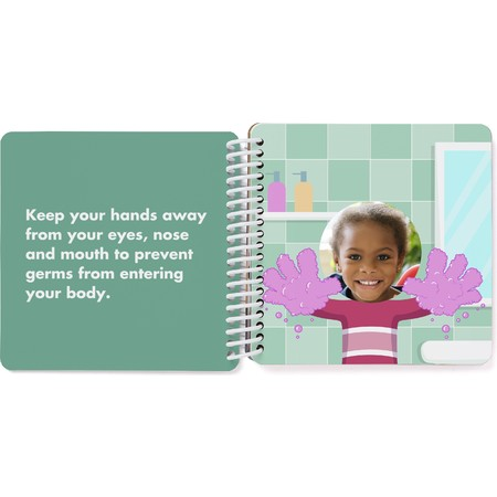 Custom Board Book of Healthy Habits - Spread 8