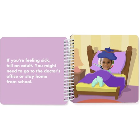Custom Board Book of Healthy Habits - Spread 9
