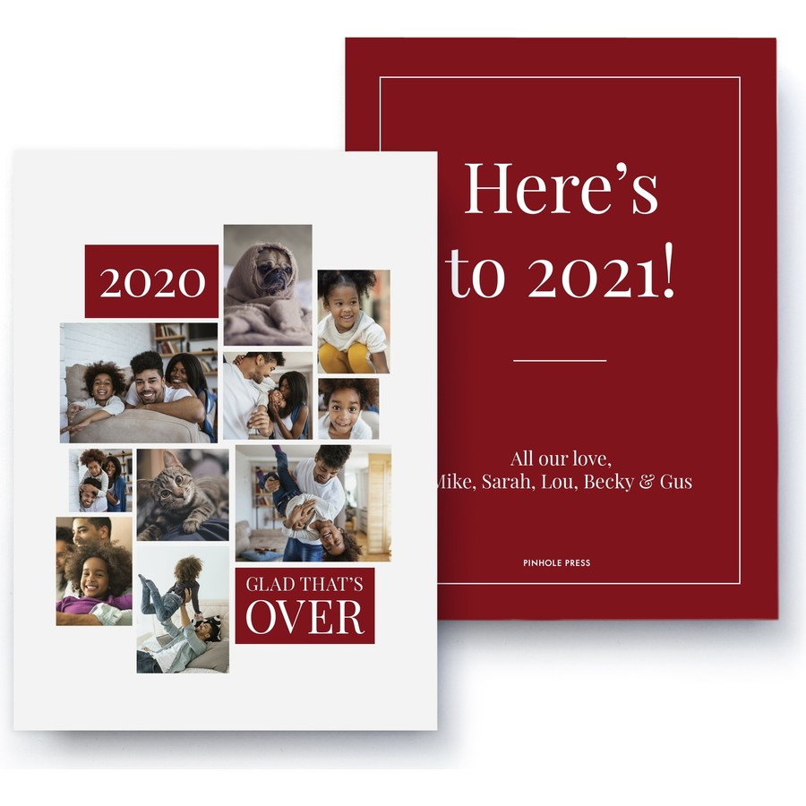 2020, Glad that's over - Red
