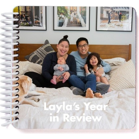 Year in Review Board Book, Cover