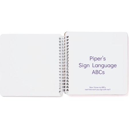 Sign Language Board Book, Title