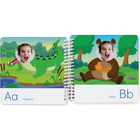Animal ABC Board Book, AB Page