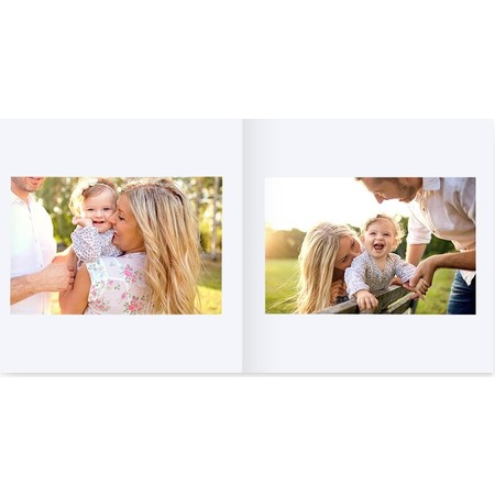 Softcover Square Layflat Photo Book Inside