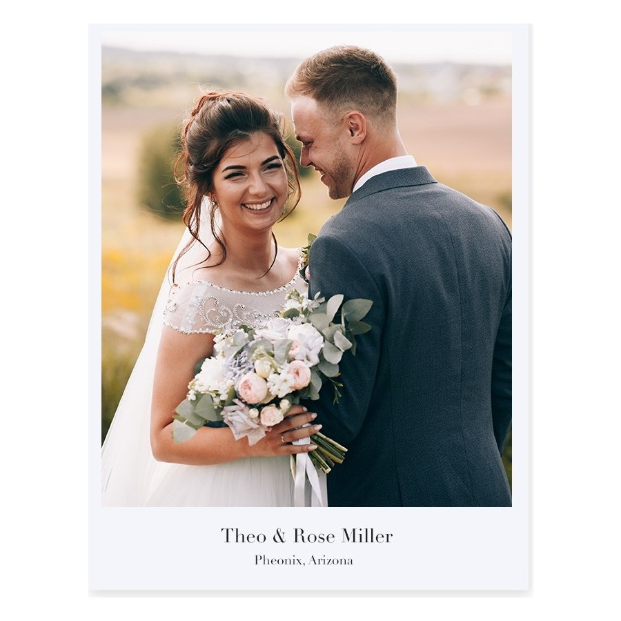 Softcover Portrait Layflat Photo Book