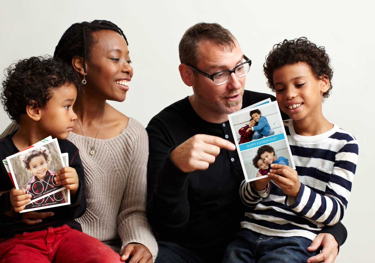 Personalized Photo Father's Day Card by Pinhole Press
