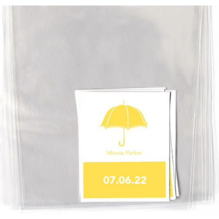 Sunny Umbrellas Personalized Goodie Labels & Bags