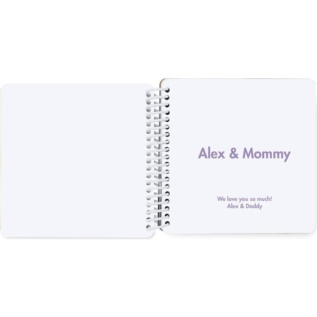 mommy and me board book inside cover