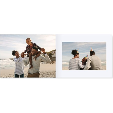 Softcover Landscape Layflat Photo Book Inside