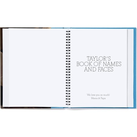 Big Book of Names and Faces - Blue