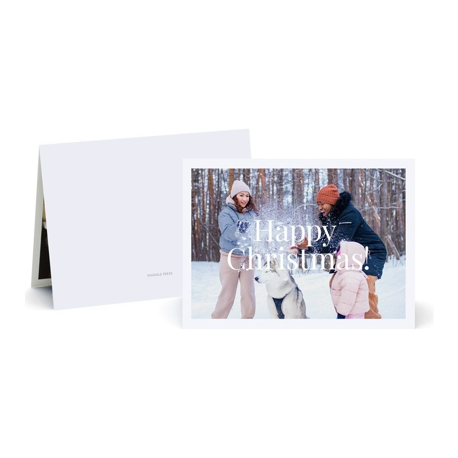 Happy Christmas Collage Photo Card