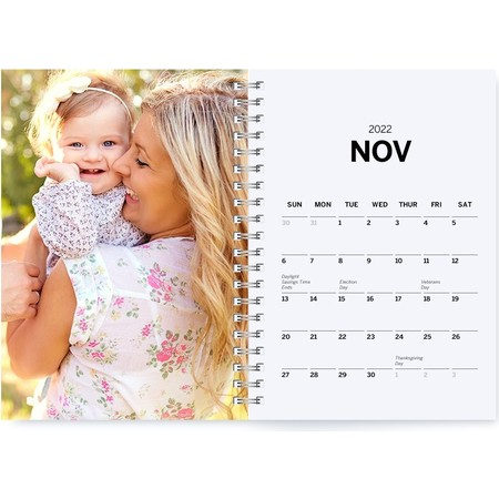 softcover planner inside month