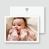 Sweet Heart Photo Thank You Card