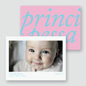 Principessa Birth Announcement