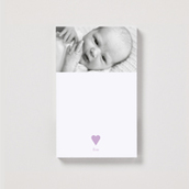Magnetic Sweet Hearts Portrait Notepad