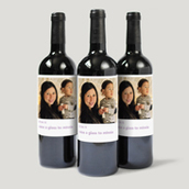 Photo Collection Bottle Labels