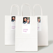 Photo Collection Gift Labels & Bags