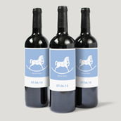 Rocking Horse Bottle Labels