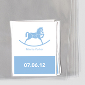 Rocking Horse Goodie Labels & Bags