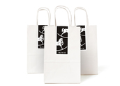 B&W Rocking Horse Gift Labels & Bags