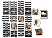 Pinhole Press Memory Game Black and White