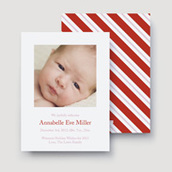 Pink Candy Cane Stripe   Ultrathick