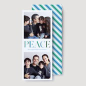Peace Photo Card   Ultrathick