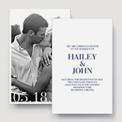 Large Format Invitation