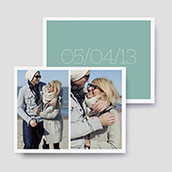 Marquee Photo Save The Date Cards